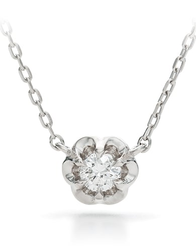 フラワーモチーフ  ダイヤモンド