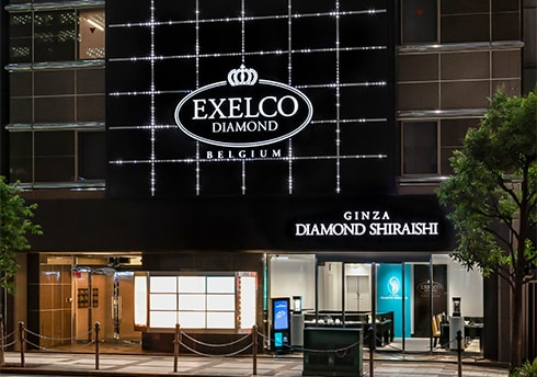 エクセルコダイヤモンド 大阪店の外観