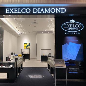 エクセルコ ダイヤモンド 外観入口