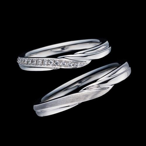 新作マリッジリング(結婚指輪)「Bell Fabiola(ベル ファビオラ)」