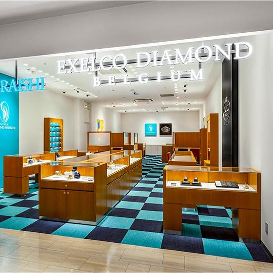 エクセルコ ダイヤモンド 博多マルイ店の外観